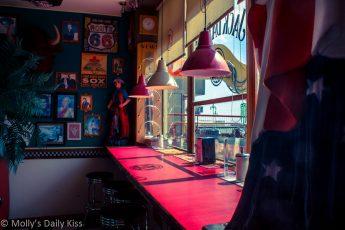 American Diner in Brighton