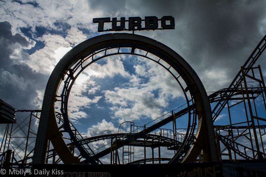 Turbo ride Brighton Pier