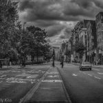 London Street in Black and White