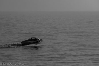 Speedboat at Brighton