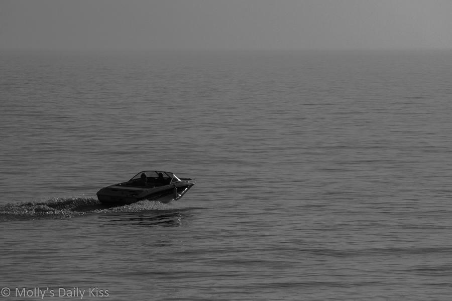 Speedboat at Brighton