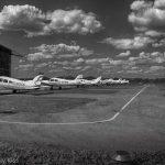 Planes at Panshanger Aerodrome