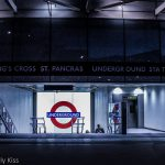 Kings cross tube station entrance