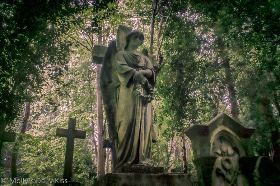 Angel in Highgate Cemetary