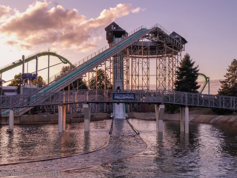 Water Ride at Dorney Park PA