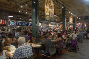 Food hall in Reading Terminal Market