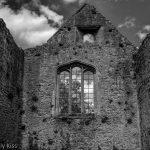 Spooky ruins Port Meadow Oxford