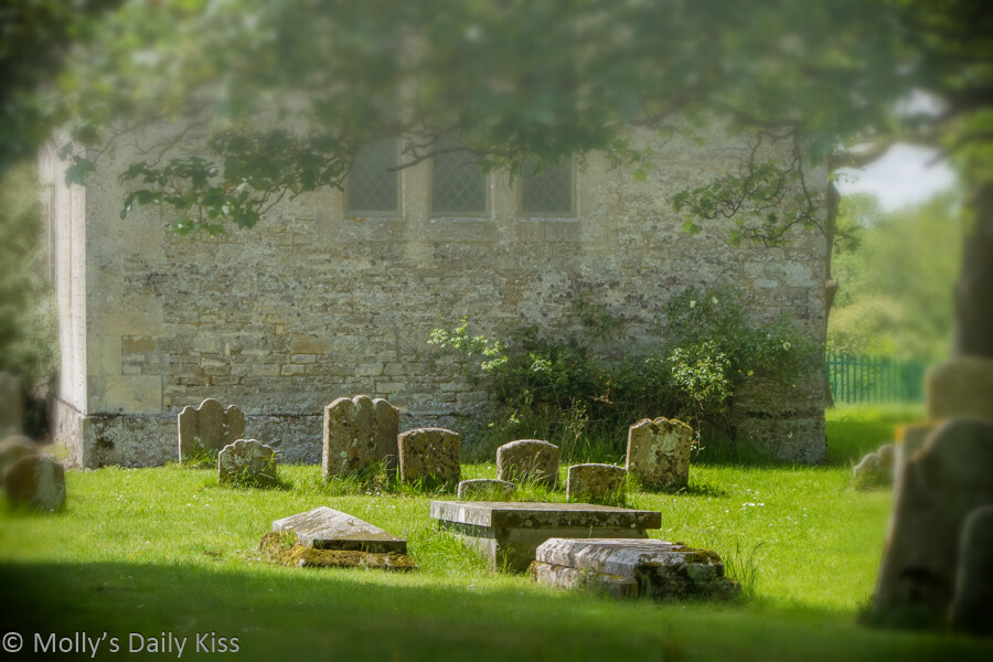 Lost village of Hampton Gay Oxfordshire
