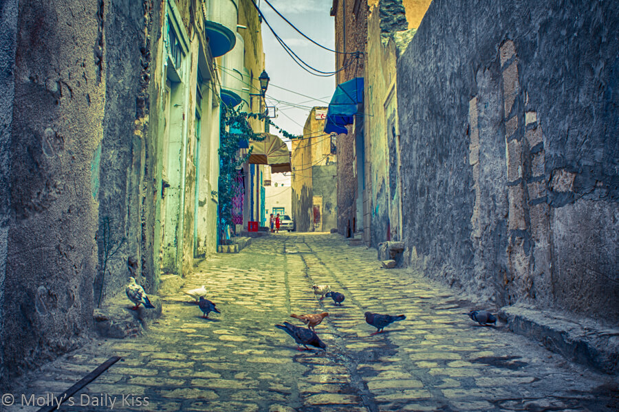 Alley way in Sousse Tunisia