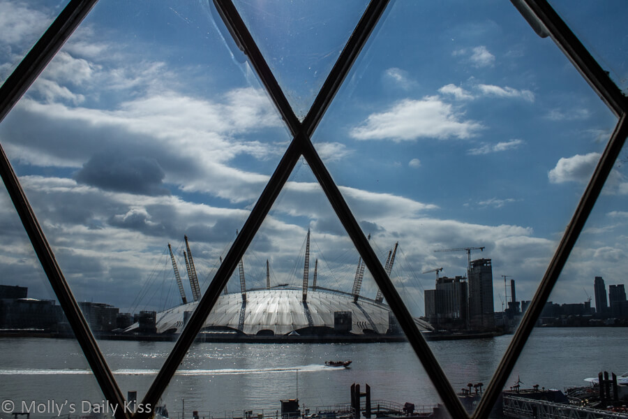 View of The Dome from Trinity Wharf Lighthouse
