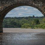 archway over Fairmont park