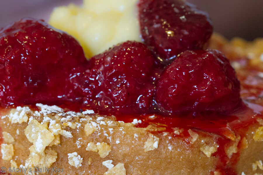 Strawberry on French Toast