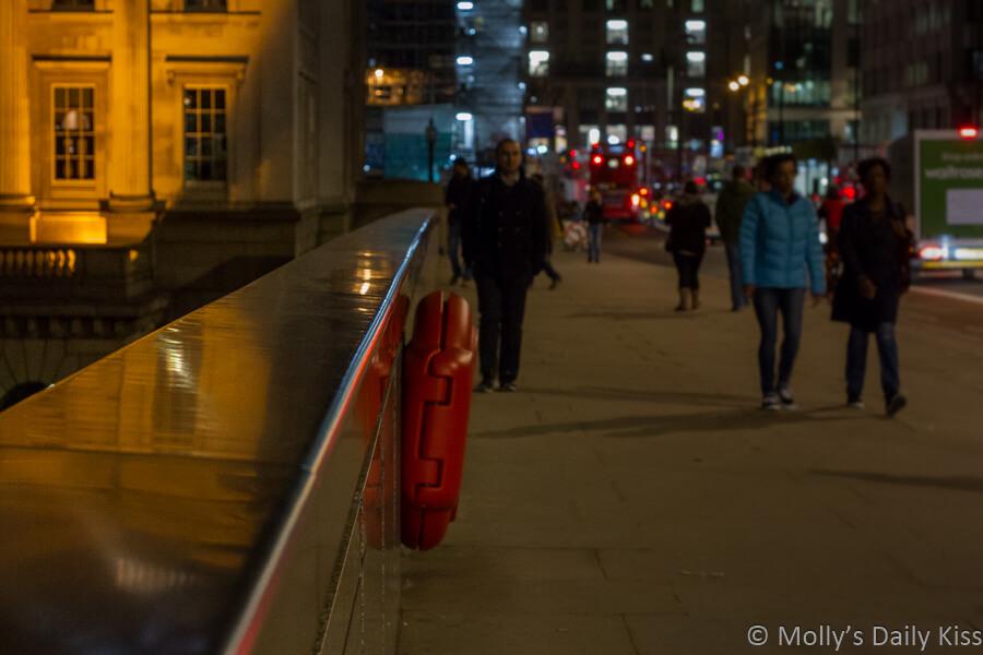 reflection in London Bridge