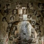 Photographs of victims in Eastern State Penitentiary