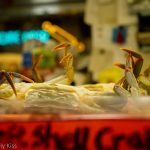Crab legs in Reading Terminal Market