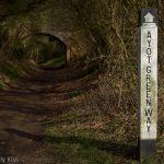 Ayot Green Way Sign post walking