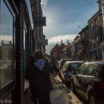 People in Rye High Street East Sussex