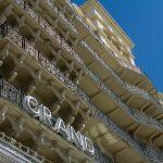 Fasacde of the Grand hotel Brighton