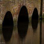 Water flow through bridge tunnels