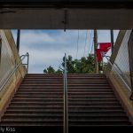 Philadephia subway steps step up