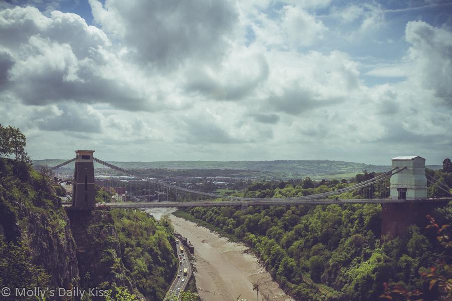 Clifton Susupension bridge over the Avon Gorge