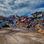 Junkyard scrap heap Welwyn Garden