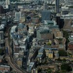 View of south london from the Shard mad london