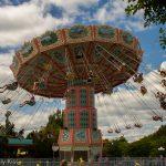 Giant swing Dorney Park spin round