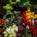 All the vegetables in Borough Market