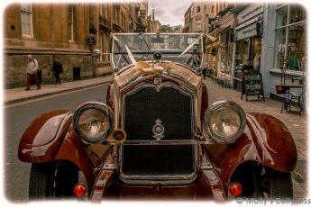 Vintage chitty chitty bang bang car