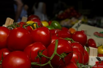 Tomato in the market