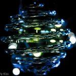 Spiral glass art