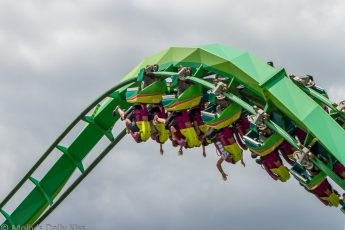 Rollar coaster in the sky
