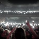 Mobile phone lights at Passenger concert in London, little lights song