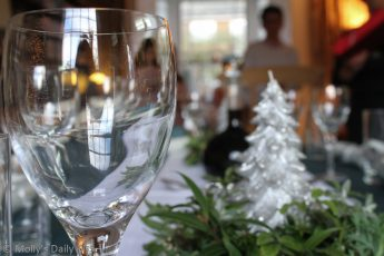 Christmas dinner table parties