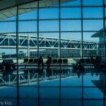 Glass building Tunisia airport