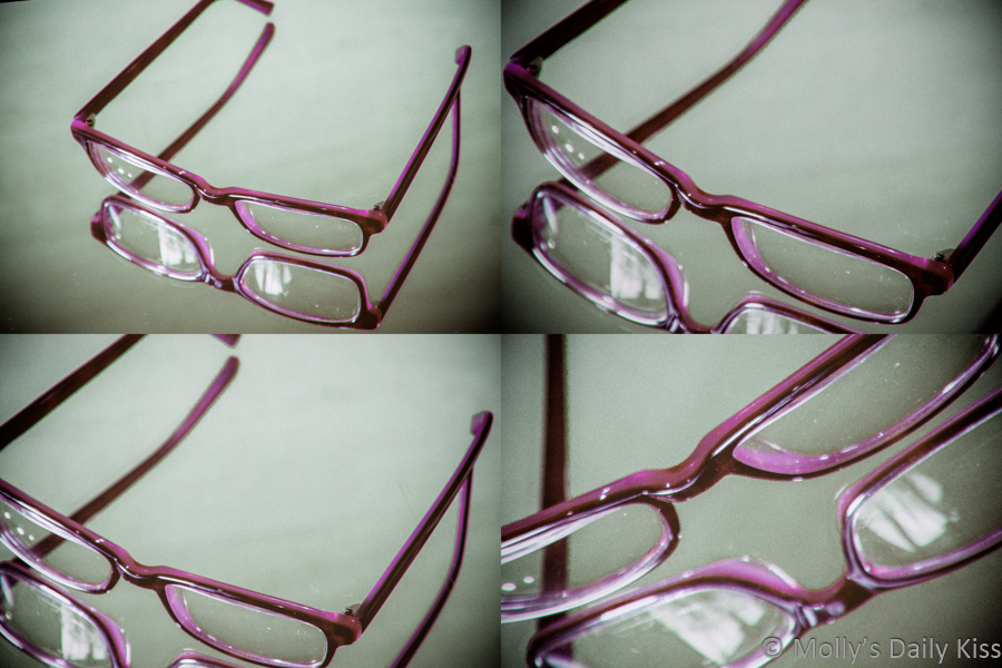 Warhol style image of glasses