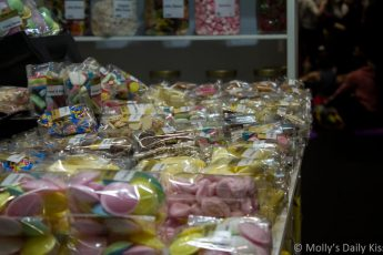 candy market stall
