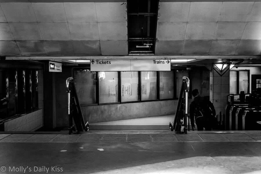 Monument tube station central London city