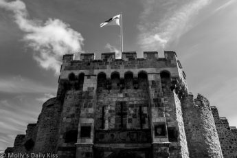 Bargate Southampton in black and white