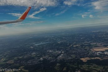 View from Easy Jet
