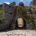 archway of St Georges Castle Kefalonia
