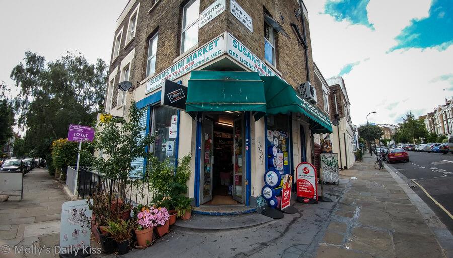 Croner shop in Kentish Town London
