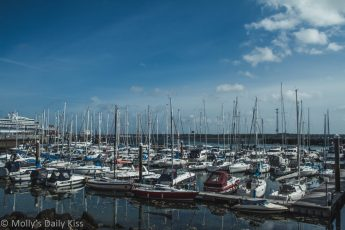 sialing boats in Southampton harbour