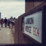 London Bridge street sign