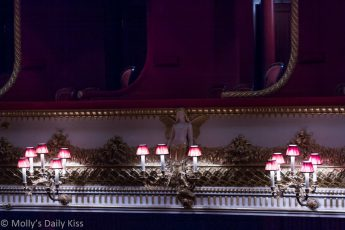 Royal Opera House theatre box seats London