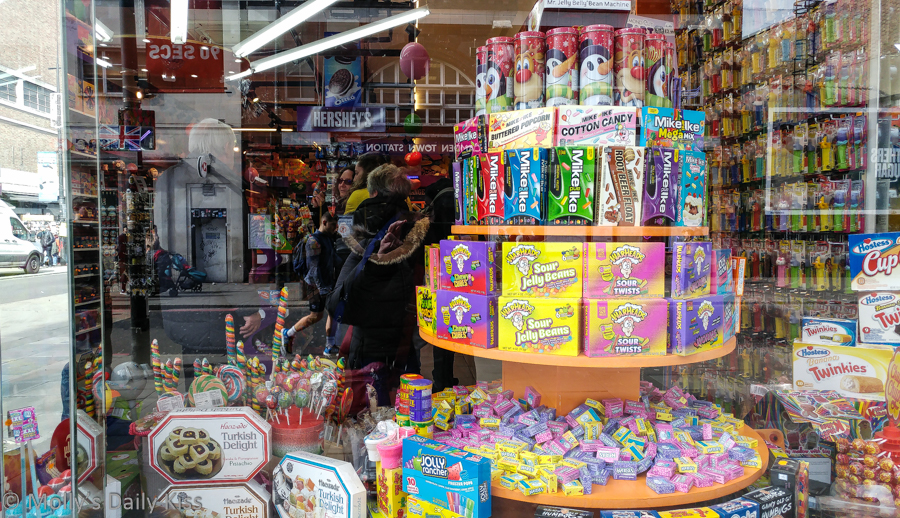 sweet shop in Camden London