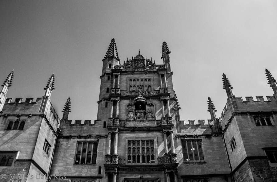 Spires of college Oxford