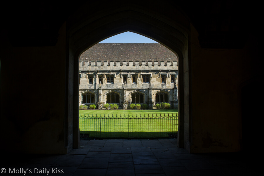 Arch at magdelean college oxford