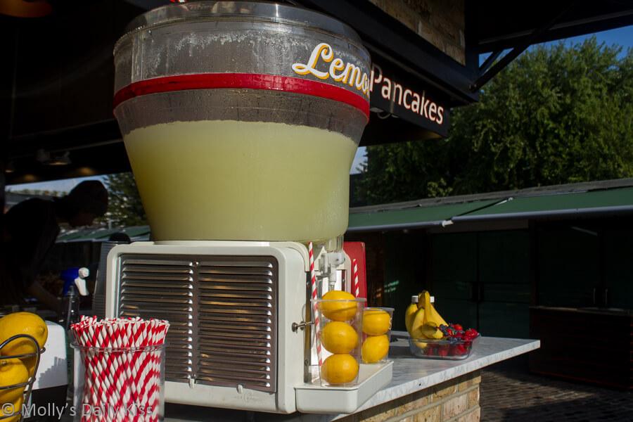 Lemonade stand Camden Market